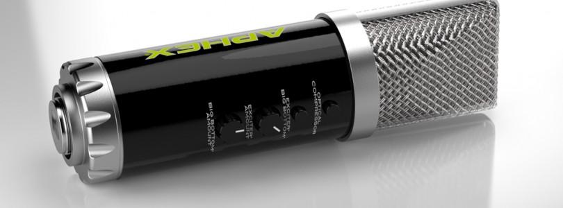 NAMM 2013: Aphex Microphone X