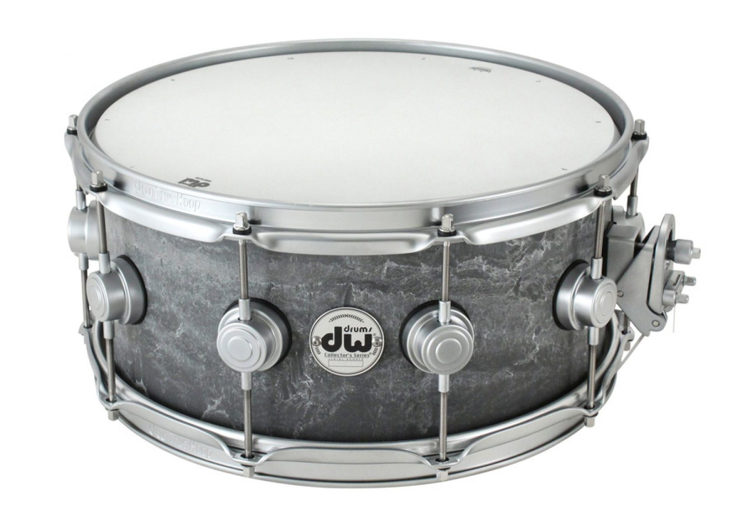 dw concrete snare drum all things gear. Black Bedroom Furniture Sets. Home Design Ideas