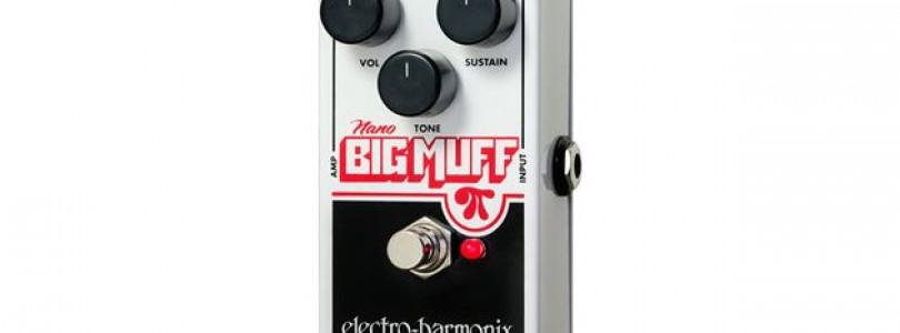 Electro Harmonix's smaller brother to Big Muff – Nano Big Muff Pi