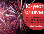 FabFilter celebrates 10th anniversary with 10 day discount sale