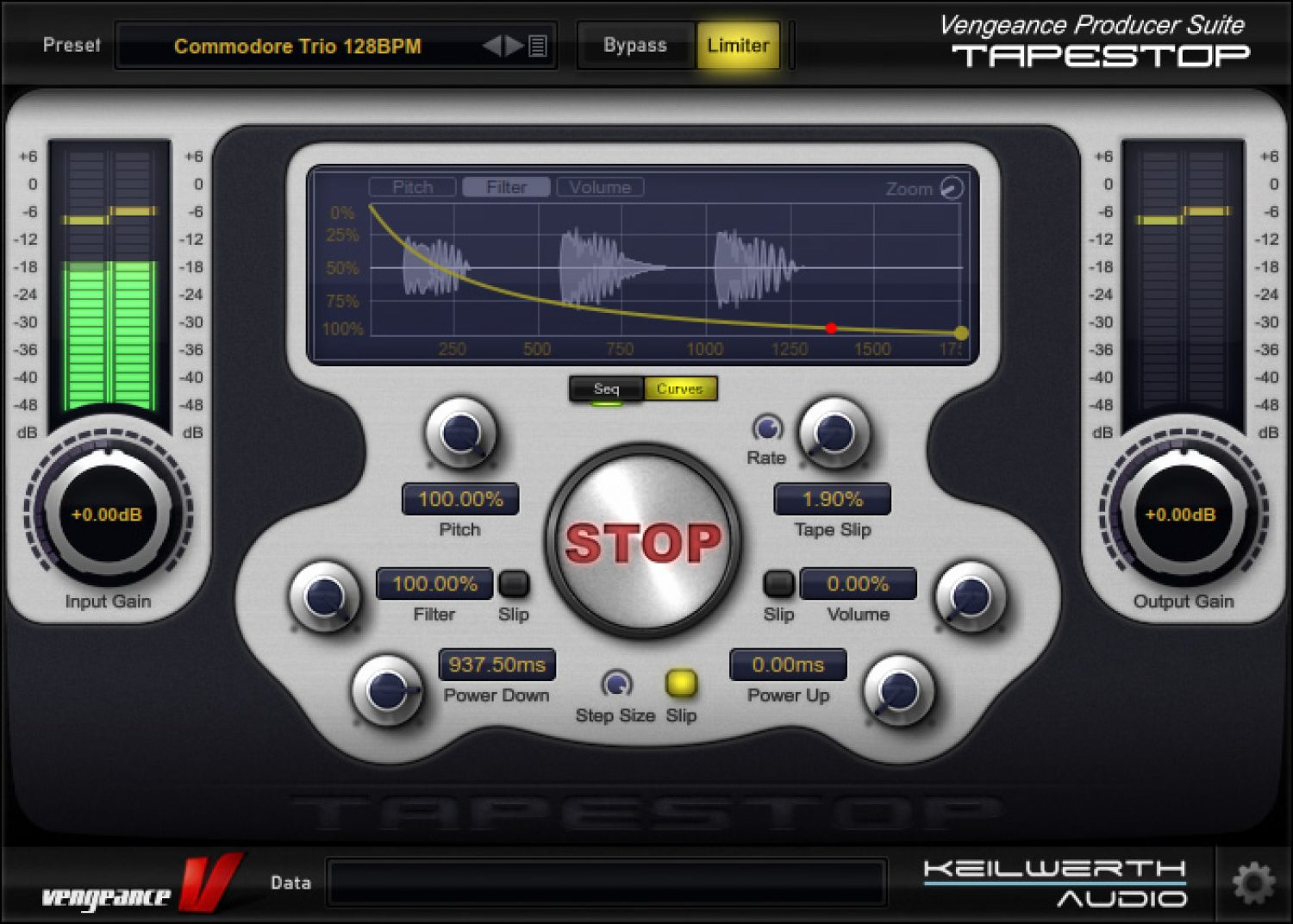 Vengeance Sound releases Tape Stop plugin