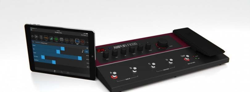 Line 6 releases AMPLIFi FX100 effects unit with Bluetooth connectivity