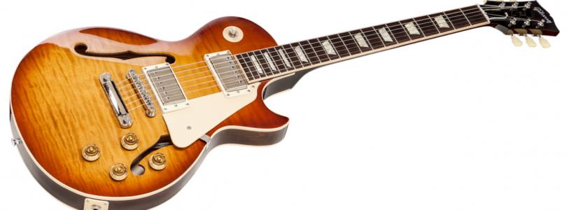 Gibson unveils ES-Les Paul guitar