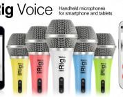 IK Multimedia ships iRig Voice