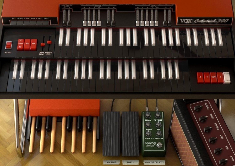 Arturia announces availability of VOX Continental-V organ emulation