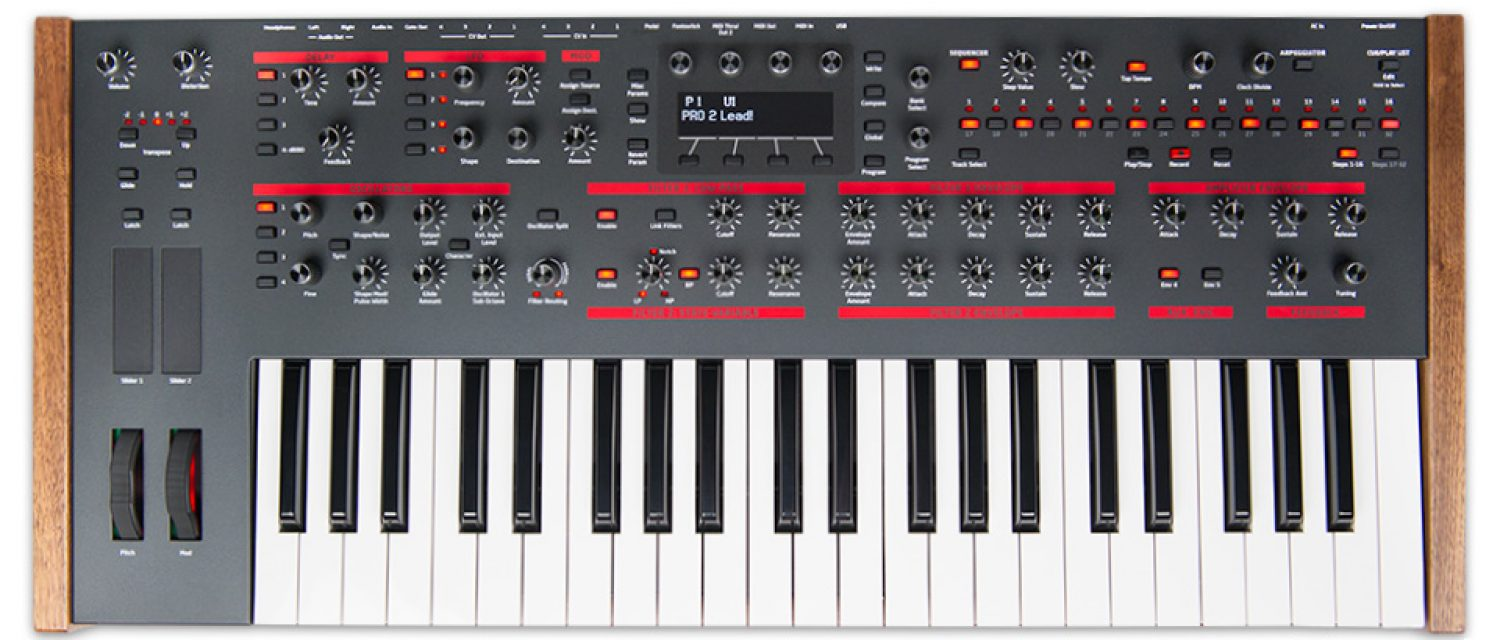 Dave Smith Instruments announces Pro 2 synthesizer