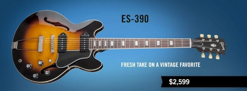 Gibson releases ES-390 guitar