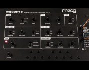 Moog releases the Werkstatt-Ø1 DIY analog synth