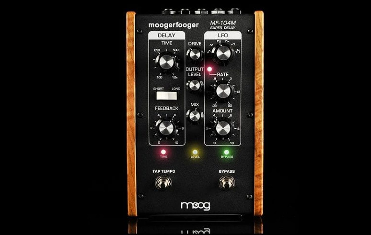 Moog releases limited edition MF-104M Super Delay Moogerfooger