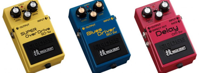 Boss unveils Waza Craft line of effects pedals at NAMM