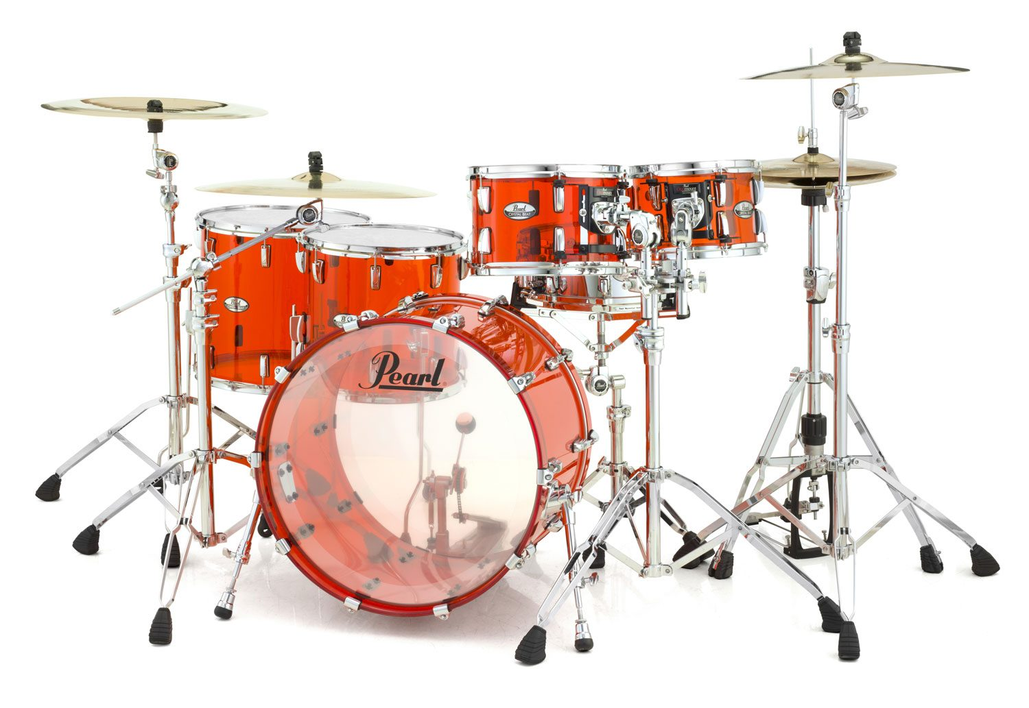 Pearl announces Crystal Beat series, made from seamless acrylic