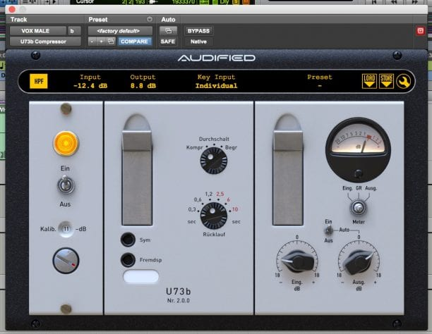 Audified U73b V2 Compression Plugin Review - All Things Gear