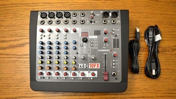 Allen & Heath ZEDi-10FX Included