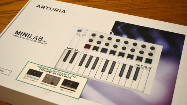 arturia minilab mkii midi controller review all things gear. Black Bedroom Furniture Sets. Home Design Ideas