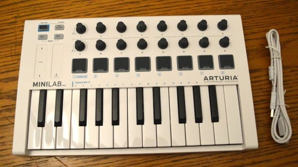 Arturia MiniLab MKII Included
