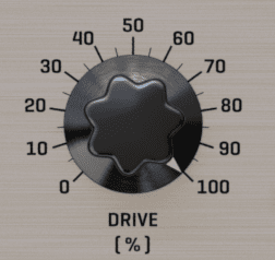Audified TNT Voice Executor Drive Knob
