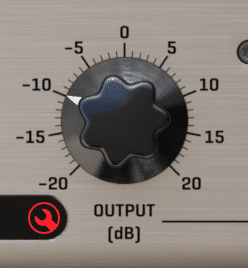 Audified TNT Voice Executor Output Knob