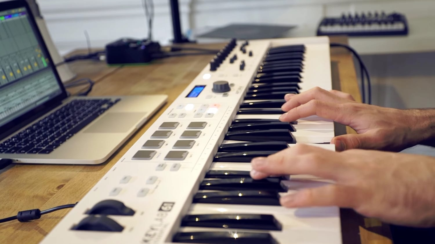 arturia launches keylab essential 49 and 61 controllers all things gear. Black Bedroom Furniture Sets. Home Design Ideas