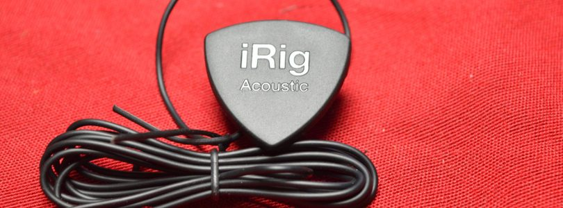 IK Multimedia iRig Acoustic Stage Microphone