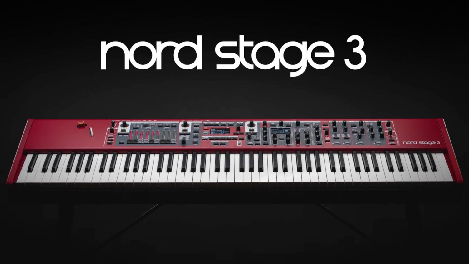 nord unveils the sexy new nord stage 3 keyboard all things gear. Black Bedroom Furniture Sets. Home Design Ideas