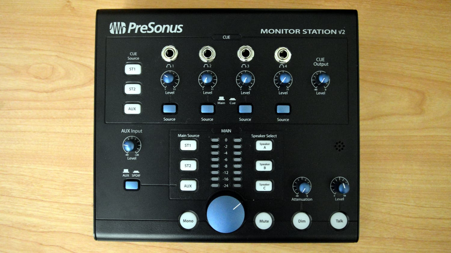 PreSonus Monitor Station V2 Top