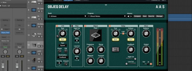 AAS Objeq Delay plugin review
