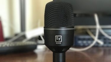 Electro-Voice ND68 dynamic microphone review