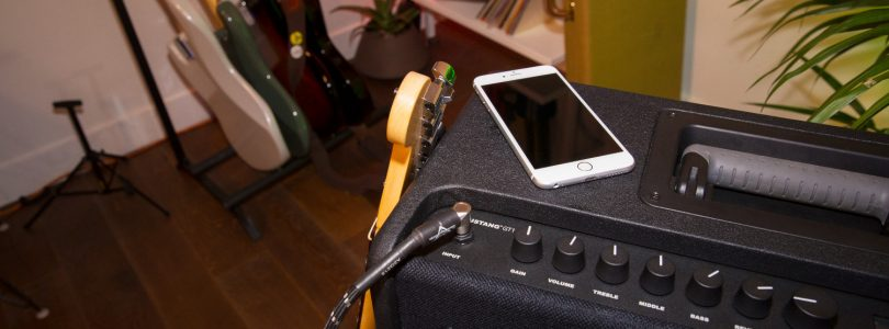 The Fender Mustang GT series lets you control your amp's presets straight from your phone