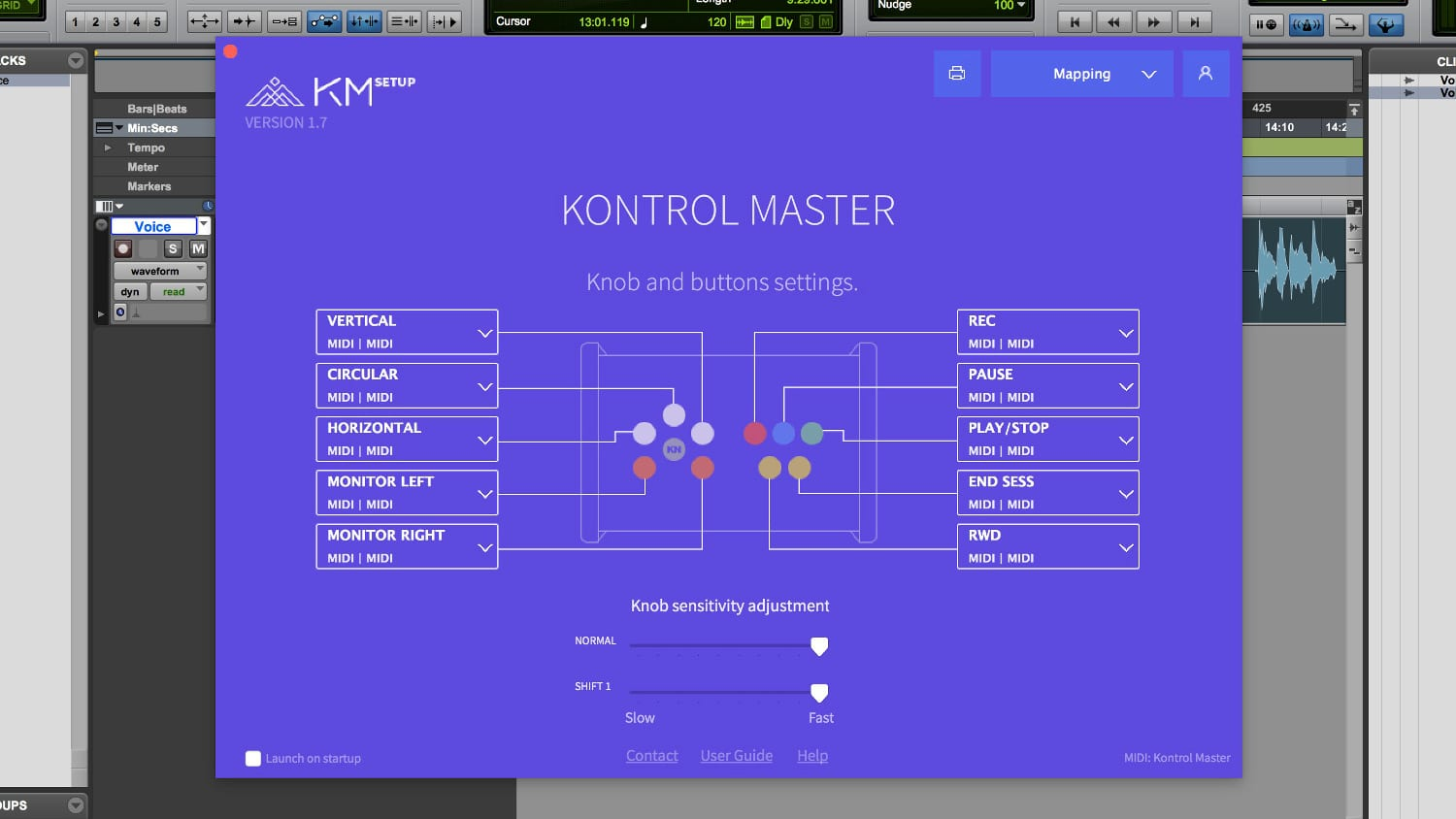 Touch Innovations Kontrol Master Software