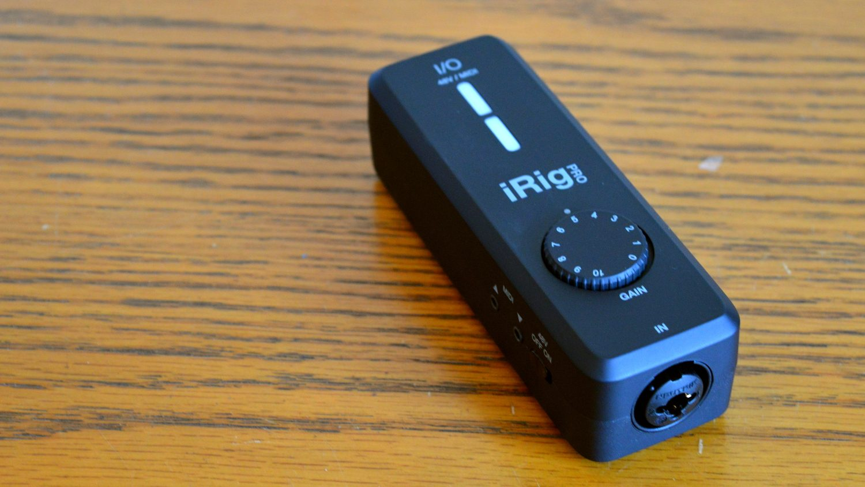 IK Multimedia iRig Pro I/O Main
