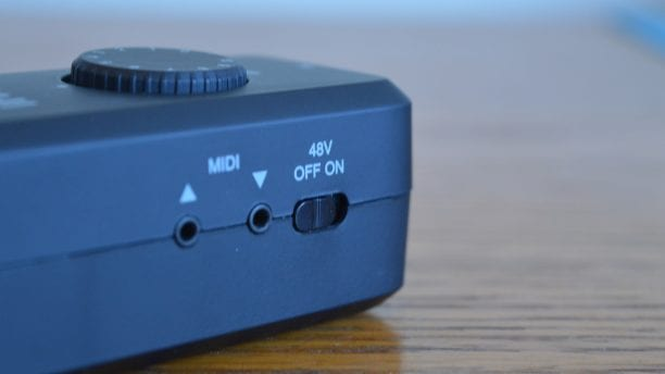 IK Multimedia iRig Pro I/O Phantom