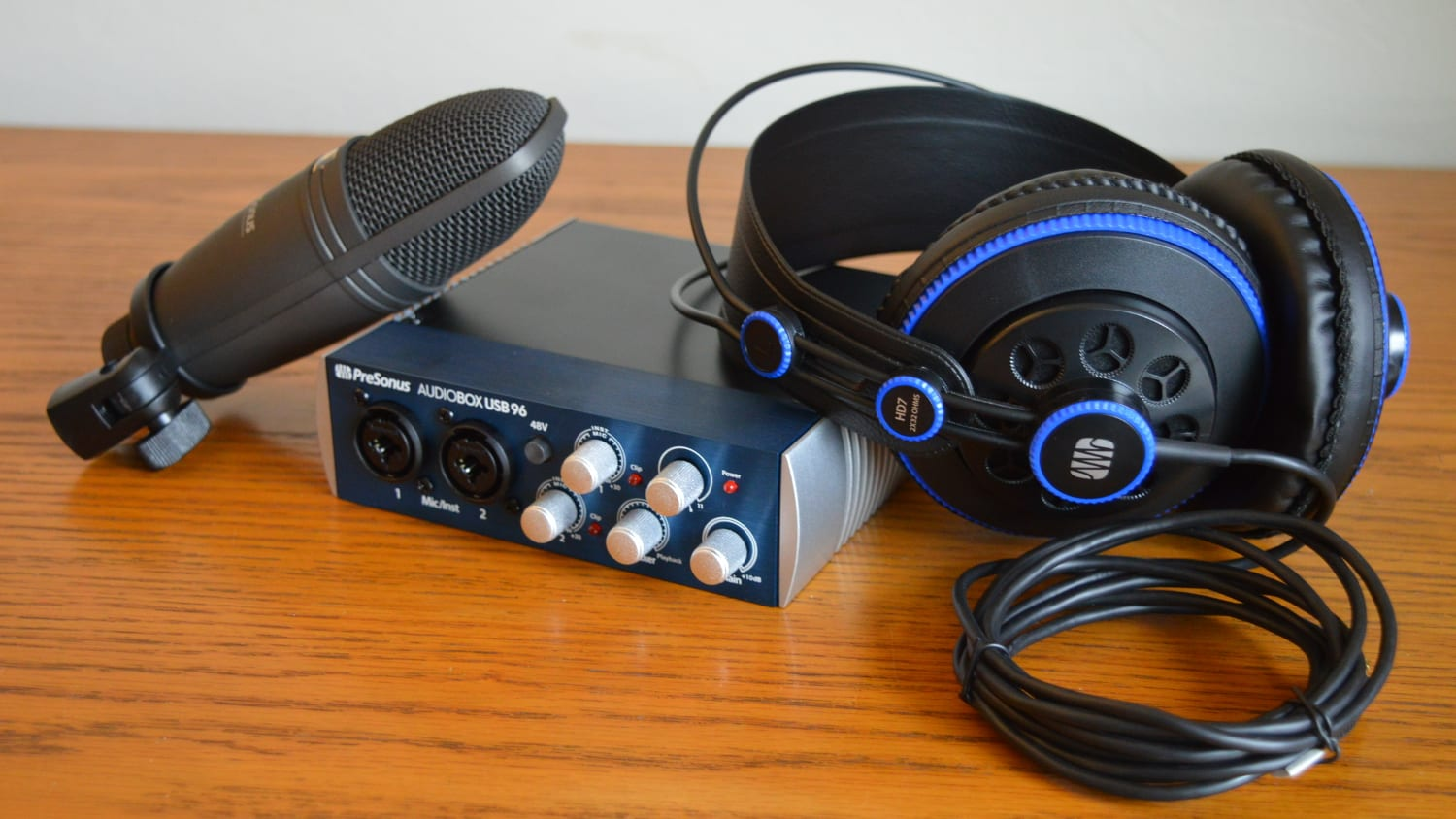 PreSonus AudioBox USB 96 Included