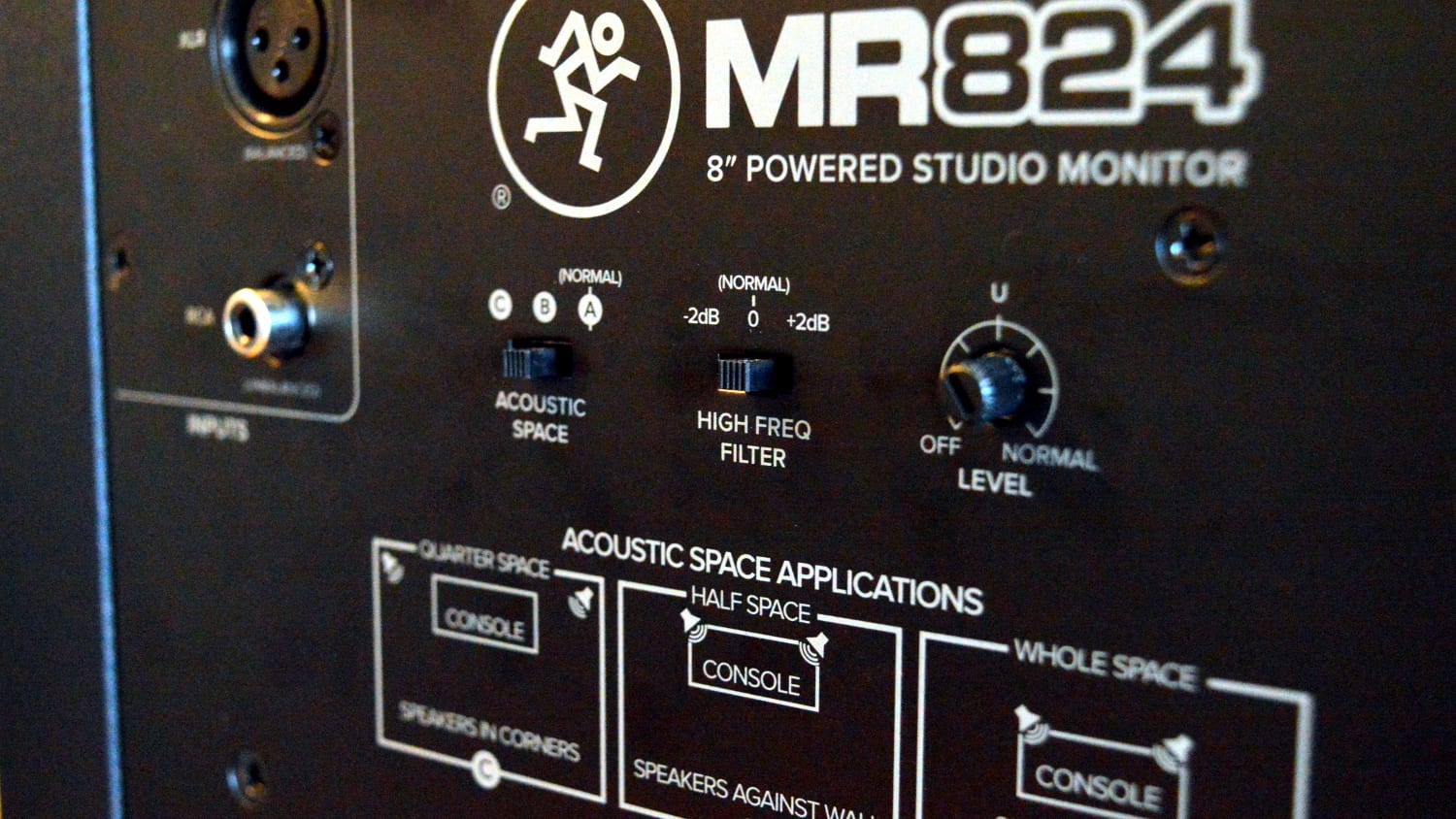 Mackie MR824 Review Back