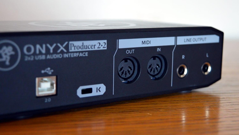 Mackie Onyx Producer 22 Back