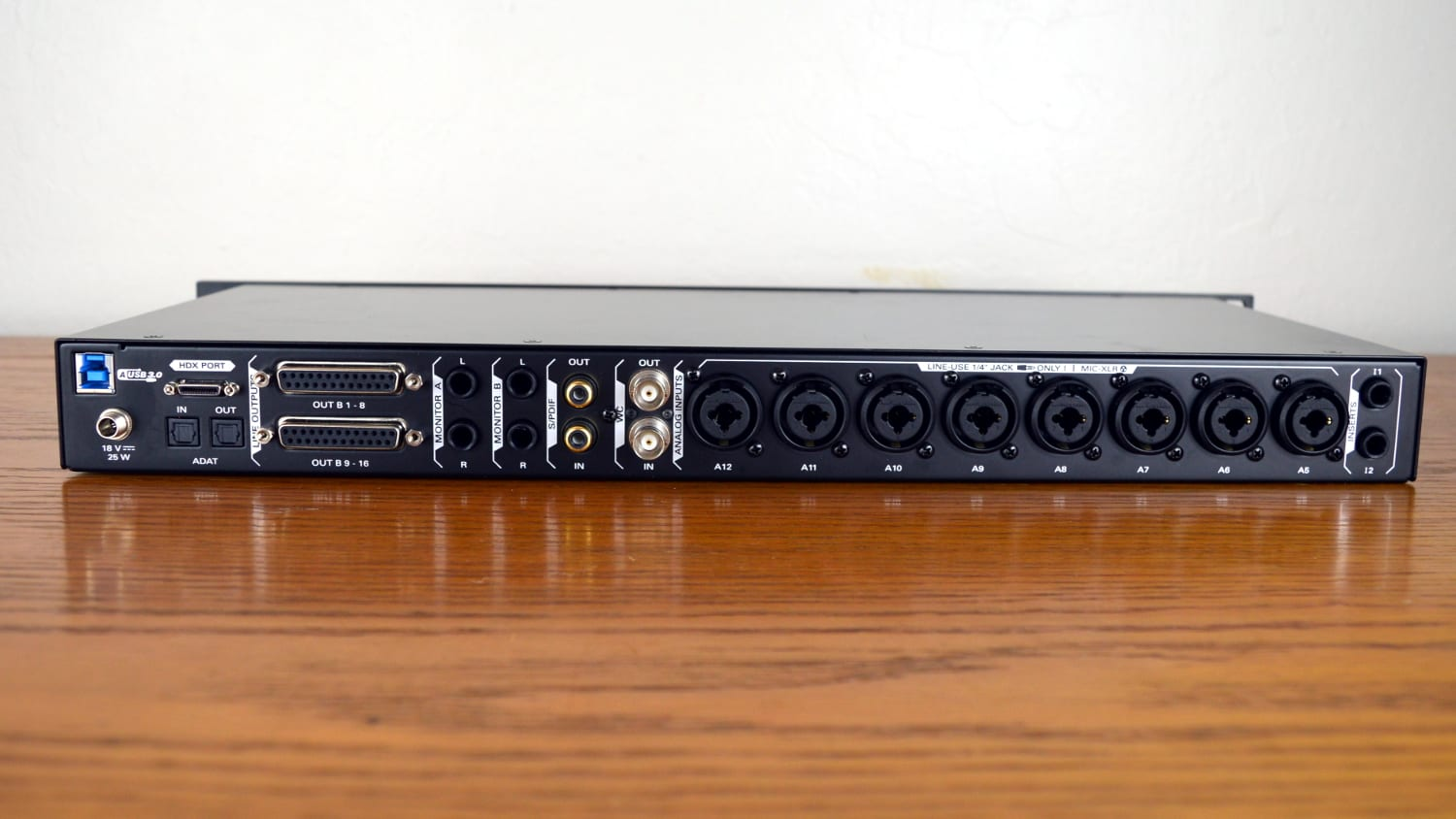 Antelope Audio Orion Studio HD Back