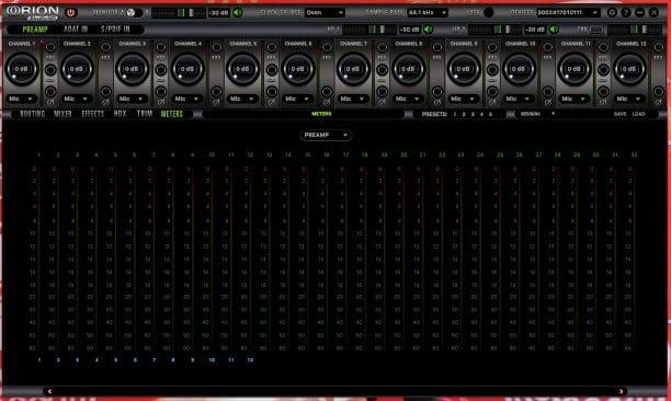 Antelope Audio Orion Studio HD Software