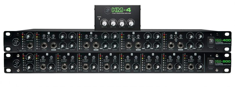 NAMM 2018: Mackie finally takes out the headphone amp space with the HM-4, HM-400, and HM-800