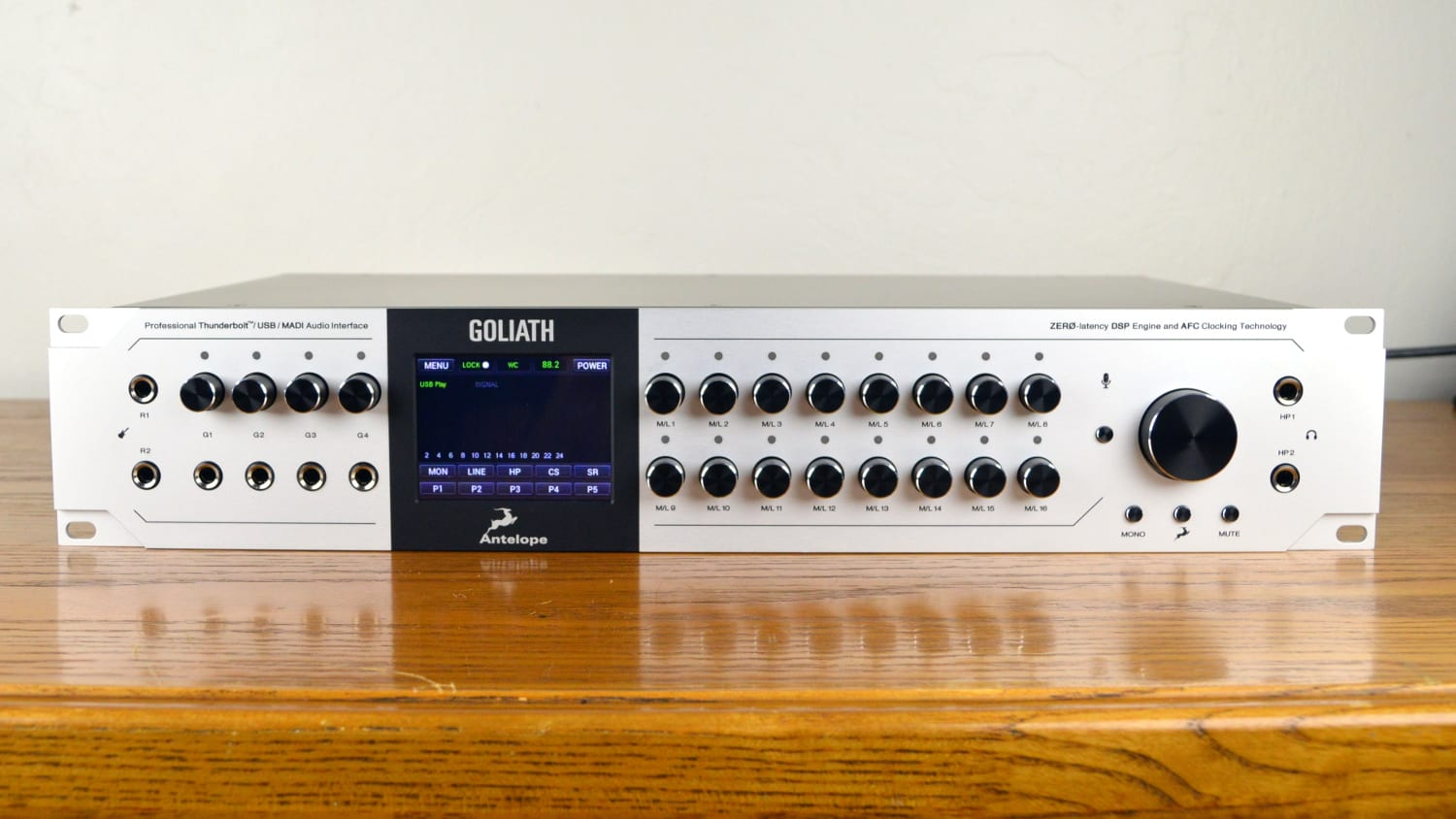 Antelope Audio Goliath Front