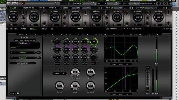Antelope Audio Goliath Software 3