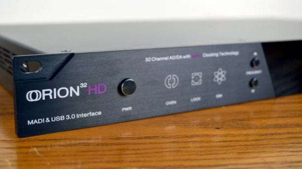 Antelope Audio Orion 32 HD Design 1
