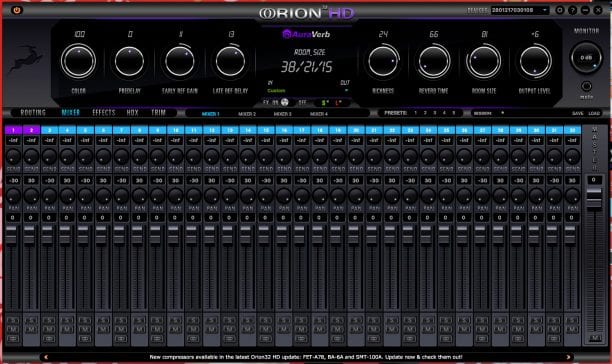 Antelope Audio Orion 32 HD Launcher 2