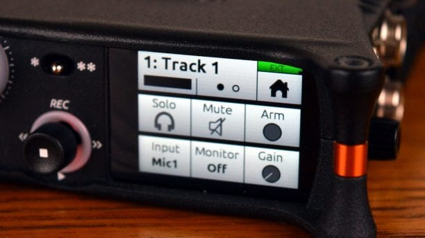 Sound Devices MixPre-10M Display 3