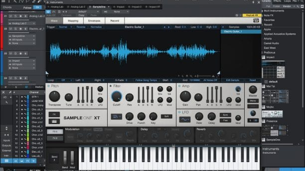 PreSonus Studio One 4 Sample One XT