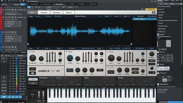 PreSonus Studio One 4 Sample One XT