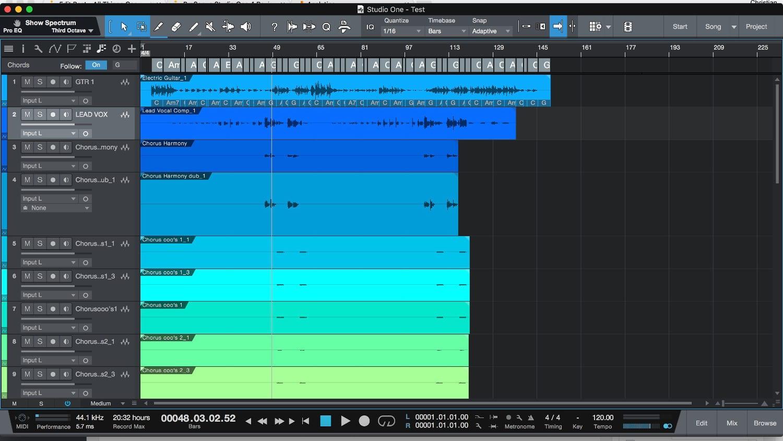PreSonus Studio One 4 Edit