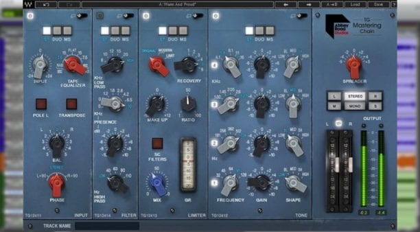 Waves Abbey Road TG Mastering Chain Effects