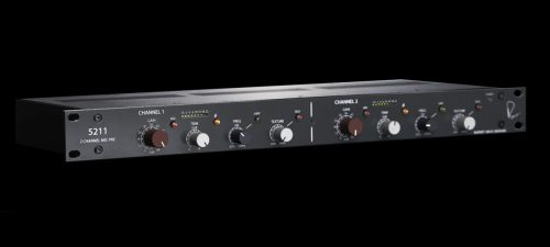 Rupert Neve Designs releases new 5211 two-channel mic pre at AES New York 2018