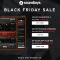Soundtoys Black Friday 2018 Deals