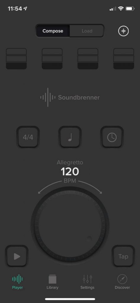 Soundbrenner Pulse App 3