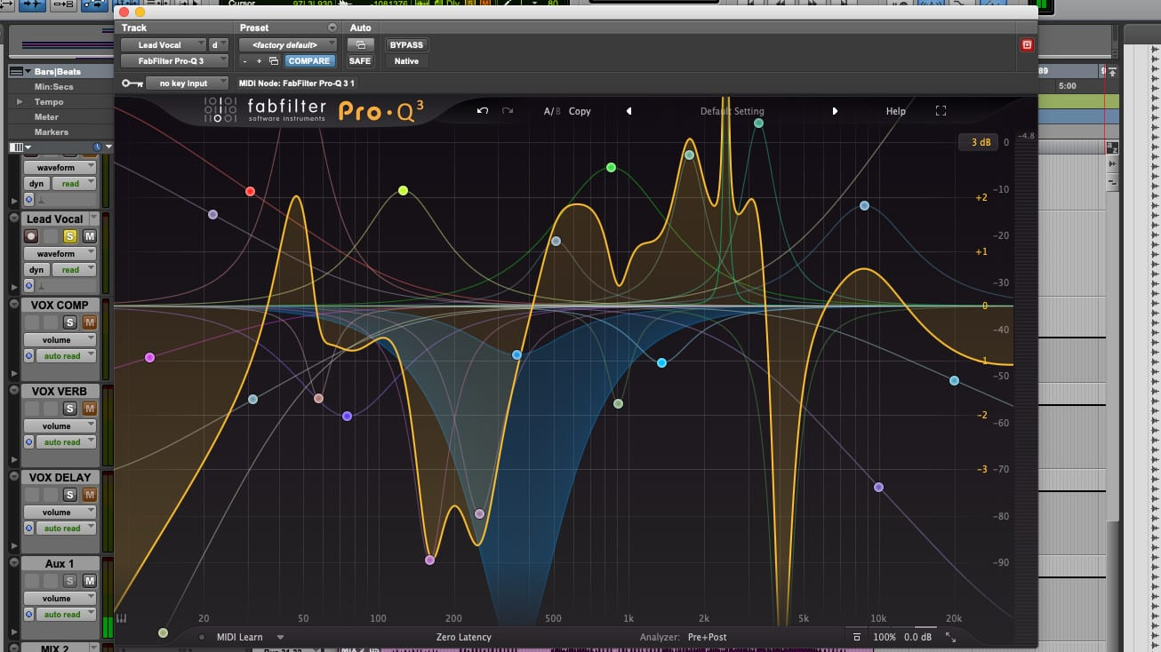 FabFilter Pro-Q 3 Bands